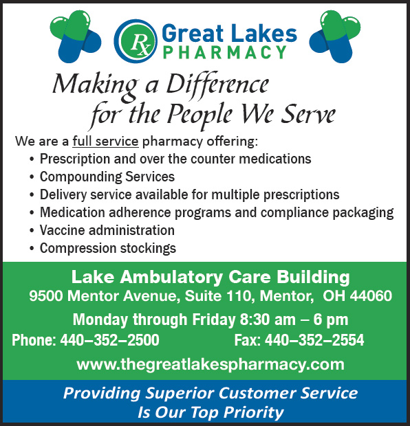 Medications ... making the process easier for you! - Great Lakes Pharmacy