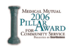 2006 Pillar Award for Community Service
