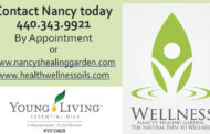 Living Balanced with Essential Oils - Nancy's Healing Garden