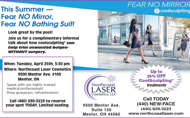 This Summer - Fear NO Mirror, Fear NO Bathing Suit! - Northcoast Laser Cosmetics, LLC