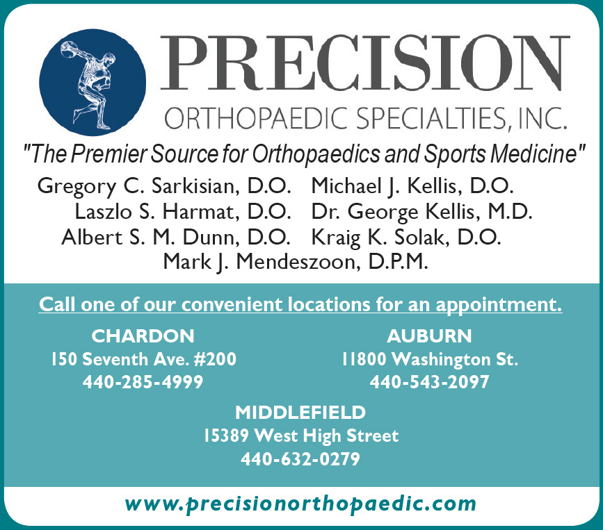 Changing Seasons of Joint Health - Precision Orthopaedic Specialties, INC.