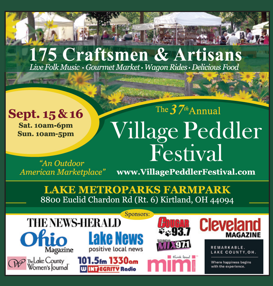A Quaint Outdoor American Marketplace Tradition  -  Village Peddler Festival