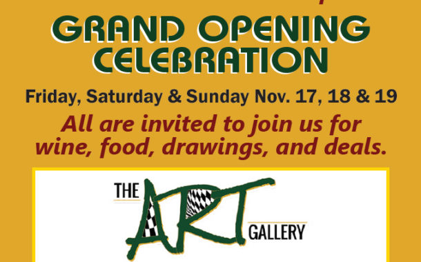 Grand Opening Celebration  -  The Art Gallery
