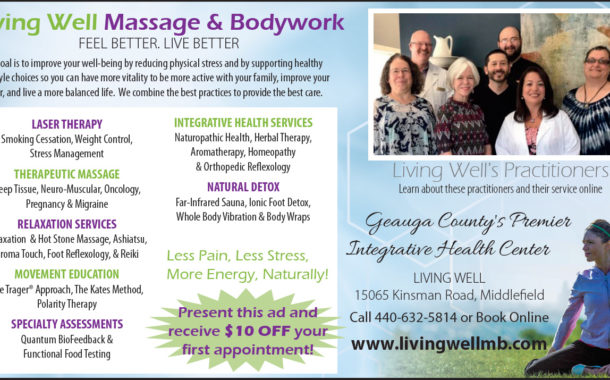 Feel Better. Live better.  -  Living Well Massage & Bodywork