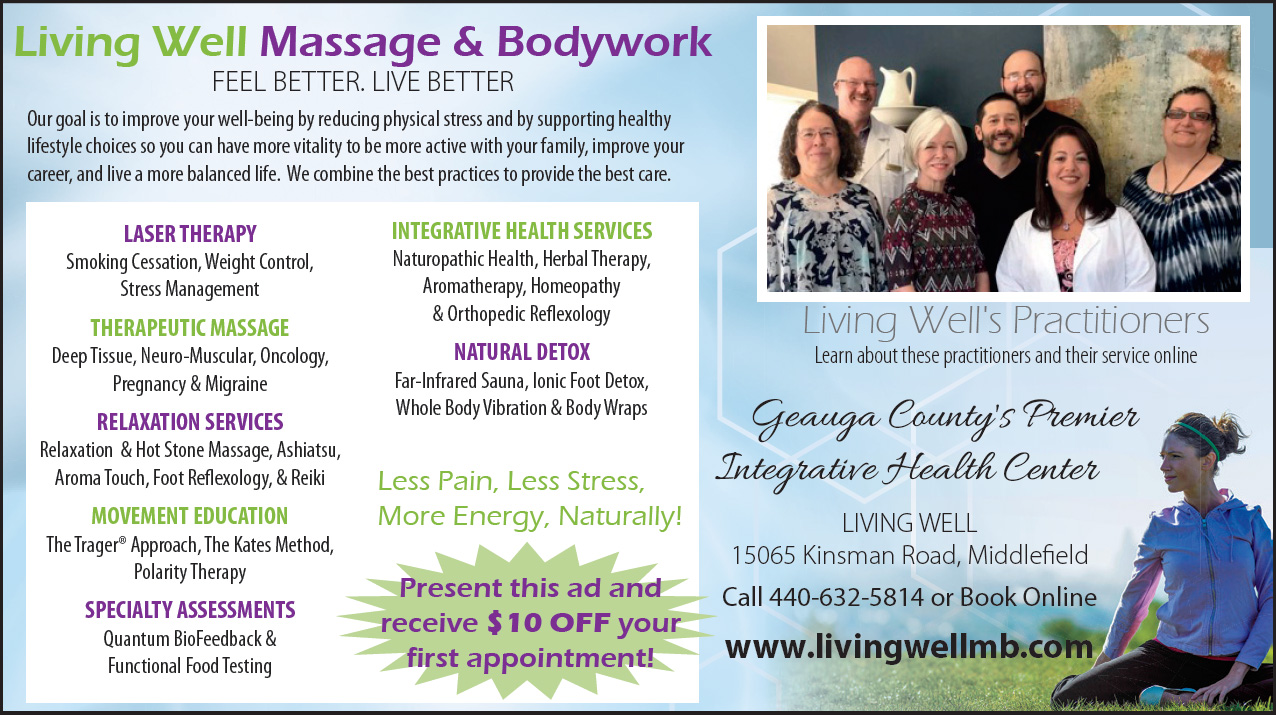 Feel Better. Live better.  -  Living Well Massage & Bodywork