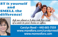 Asthma Sufferers - tired of the misery & torment?  -  Carolyn Reed, Vollara Fresh Air Surround