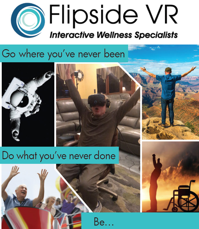 Helping Patients have a Meaningful Experience  -  Flipside VR, Interactive Wellness Specialists