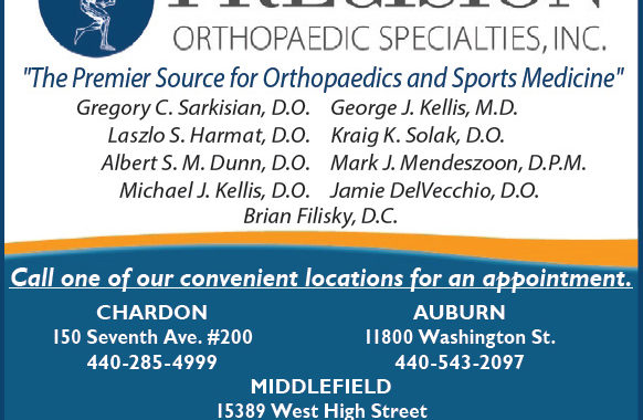 YOUR PREMIER SOURCE FOR ORTHOPAEDICS AND SPORTS MEDICINE -  Precision Orthopaedic Specialties, Inc.