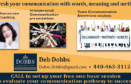 Communicate with Confidence  -  Debra Dobbs, Dobbs Communication
