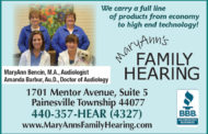 Something to Think About  -  MaryAnn's Family Hearing