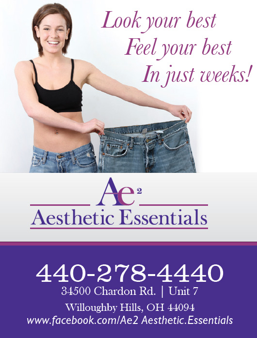 Feel Good about Yourself...and improve your health and well-being!  -  Aesthetic Essentials