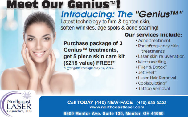Want Younger Looking Skin? The Genius™ Is In!  -  Northcoast Laser  Cosmetics, LLC