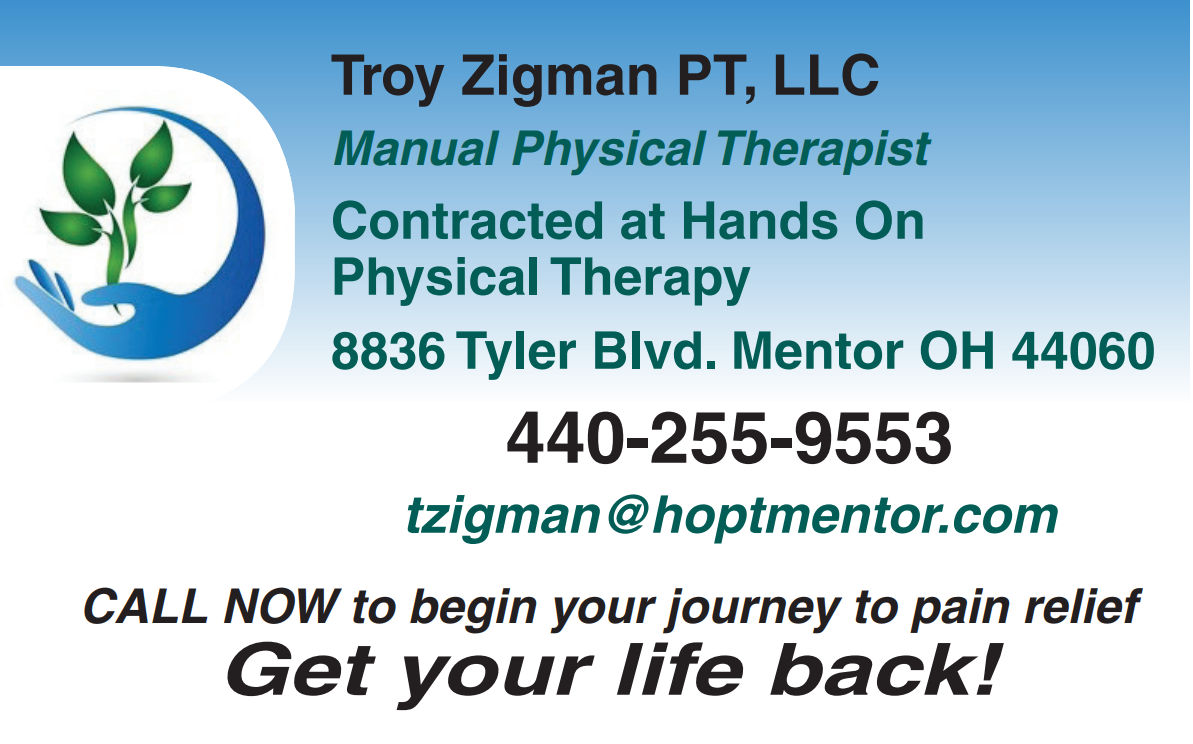 Still in Pain? ...I'm the one you come to when nothing else works  -  Troy A. Zigman, PT