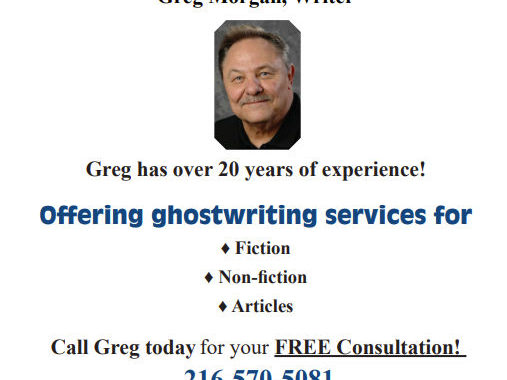 Do You have a Story that Eats Away at you? – Greg Morgan, Ghostwriting Services